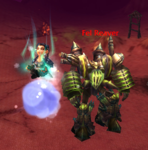 Moema and the Fel Reaver